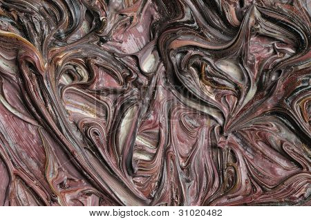 Oil Paintings. Texture.