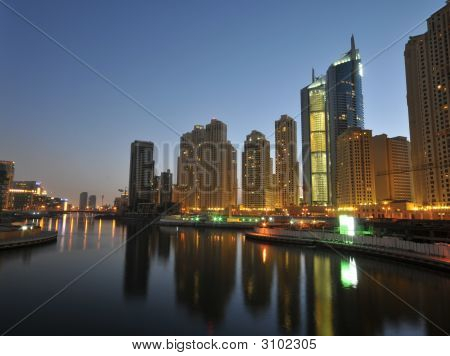 Dubai Charming Night