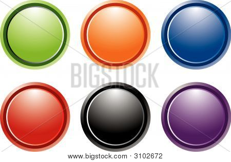 Gel Internet Buttons