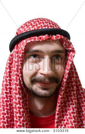 Smiling Arabian Young Man