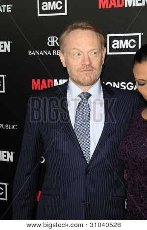 LOS ANGELES - MAR 14:  Jared Harris arrives at the