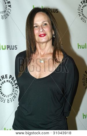 BEVERLY HILLS, CA - MARCH 9: Laurie Zaks arrives at the 2012 Paleyfest
