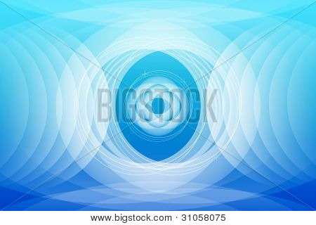 Abstract Blue Background Wallpaper