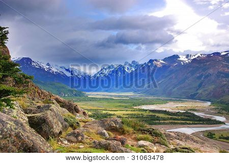 national park near El Chalten, Argentina