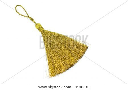 Gold Silk Tassle