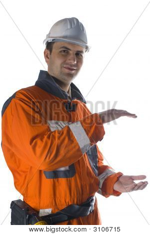 Product Photography, Worker Holding Your Product