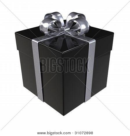 Caja de regalo negra