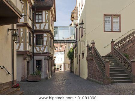 Wertheim Old Town City View