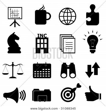 Business Objects Icon Set