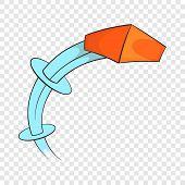 Throw A Brick Icon. Cartoon Illustration Of Throw A Brick Vector Icon For Web poster