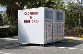 Clothing Drop Box