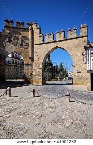 Puerta de Jaen, Baeza, Andalusia, Spain.