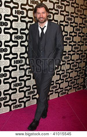 LOS ANGELES - JAN 13:  Nikolaj Coster-Waldau arrives at the 2013 HBO Post Golden Globe Party at Beverly Hilton Hotel on January 13, 2013 in Beverly Hills, CA..