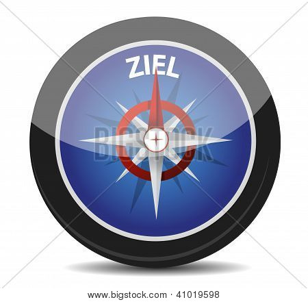 German Text 'ziel', Translate For Target