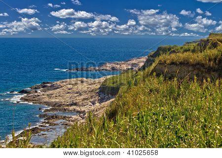 Island Of Susak Rocky Coast