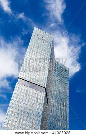 Skyscraper Blue Sky