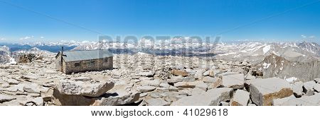 Mount Whitney Summit Panorama