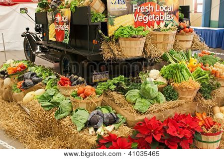 Vegetables At Farm Show