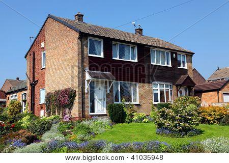 Typical english house, uk