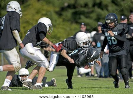 Youth Football Taking Down