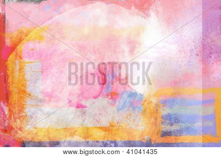 Abstract Tropical Warm Background