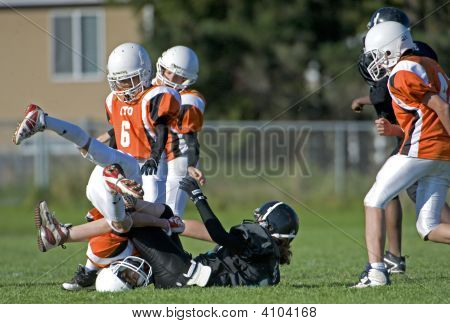 Youth Football Qb Taken Out