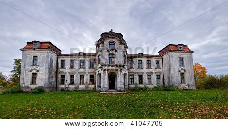 The ancient manor in Belarus