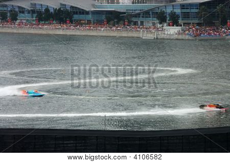 F1 Powerboats Drawing Figure Eight