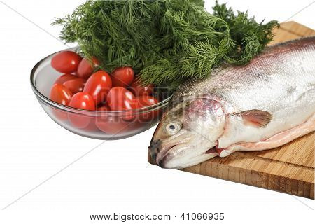 Salmon With Greenery