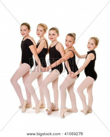 Ballet Student Dancer Friends
