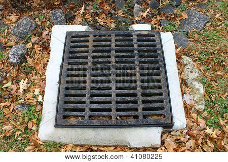 cast iron storm drain
