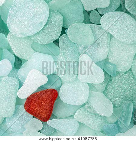 Sea Glass Background