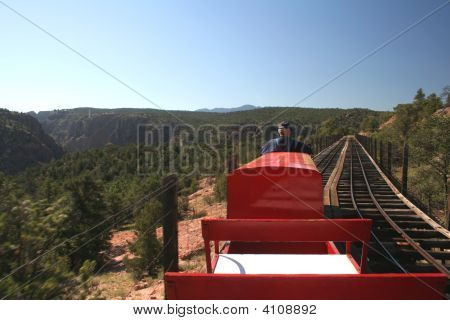 Railroad Train Track