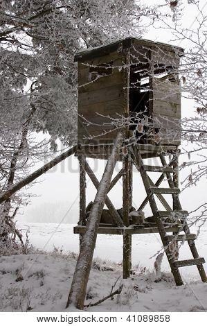 Hunting Tower at Winter