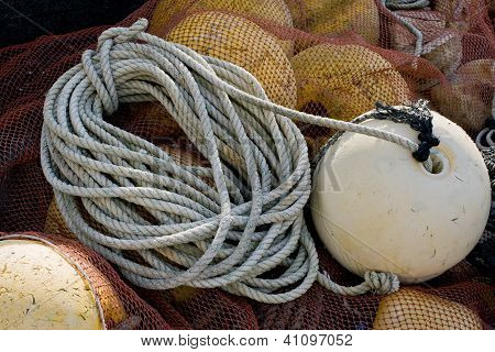 Rope With Buoy Attached