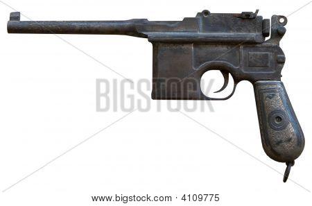 Vintage persönliche Pistole