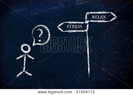 Business Life: Stress Vs Relax