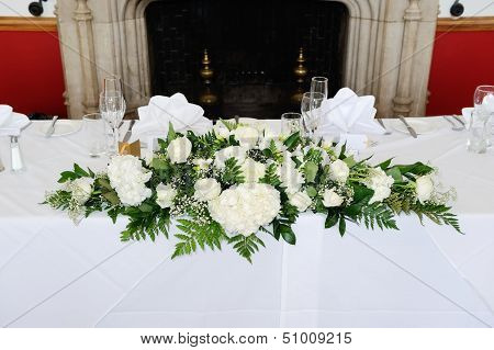 Wedding Reception Flowers