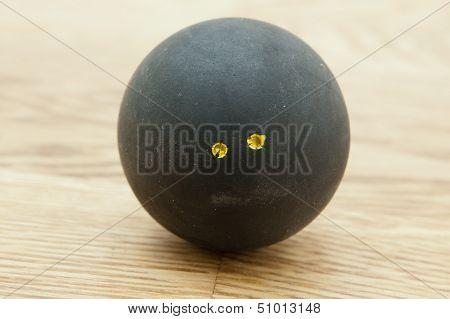 Double Yellow Dot Squash Ball