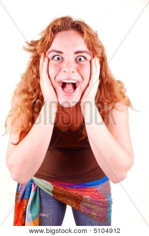 Surprised Girl.