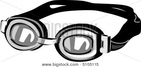 Swimming Goggles Vector Swim Goggles