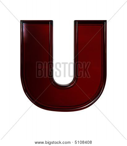 Plastic Letter U