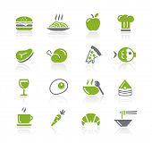 picture of take out pizza  - Food Icons  - JPG