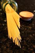Spaghetti Pasta Spilling poster