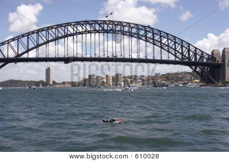 Ponte e canoísta