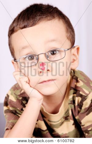 Child With Lenses