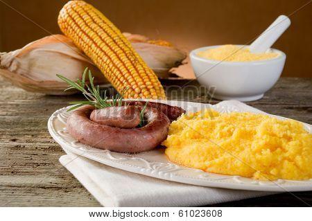 polenta and sausage