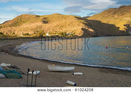 Cabo De Gata Fishing Boats