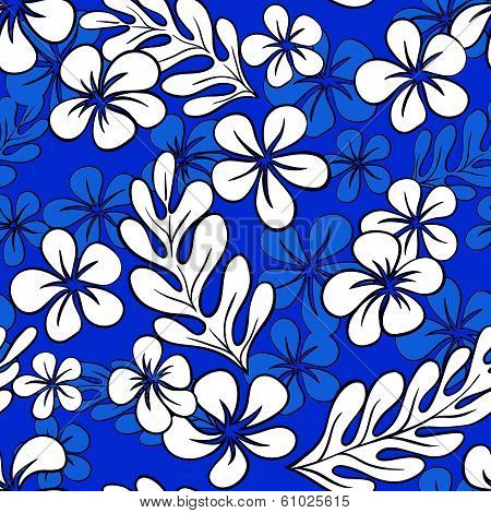 Vector Floral Seamless Pattern