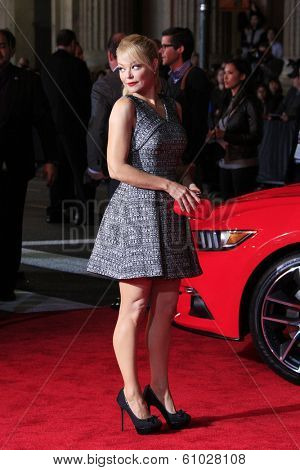LOS ANGELES - MAR 6: Charlotte Ross at the premiere of DreamWorks Pictures' 'Need For Speed' at TCL Chinese Theater on March 6, 2014 in Los Angeles, California